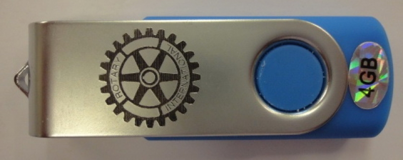 Producto Pen drive Rotary