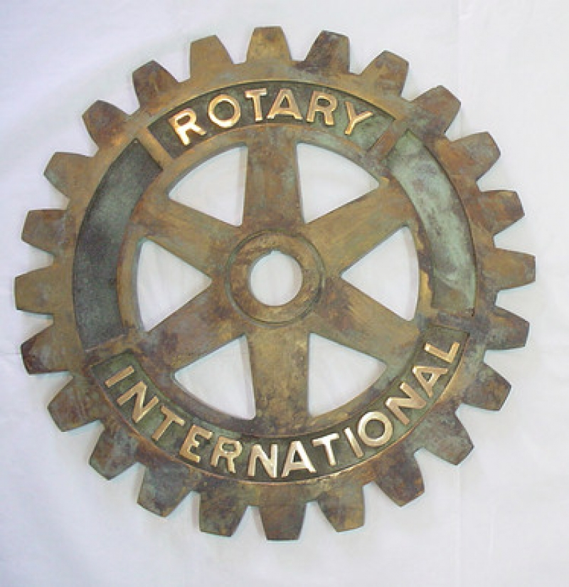 Producto Rueda Rotary bronce 25 cm.